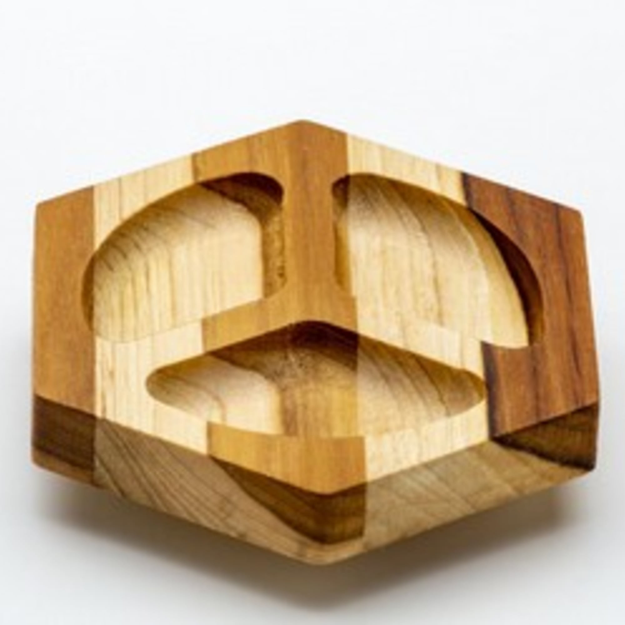 Porta Componentes Hexagonal Triplo