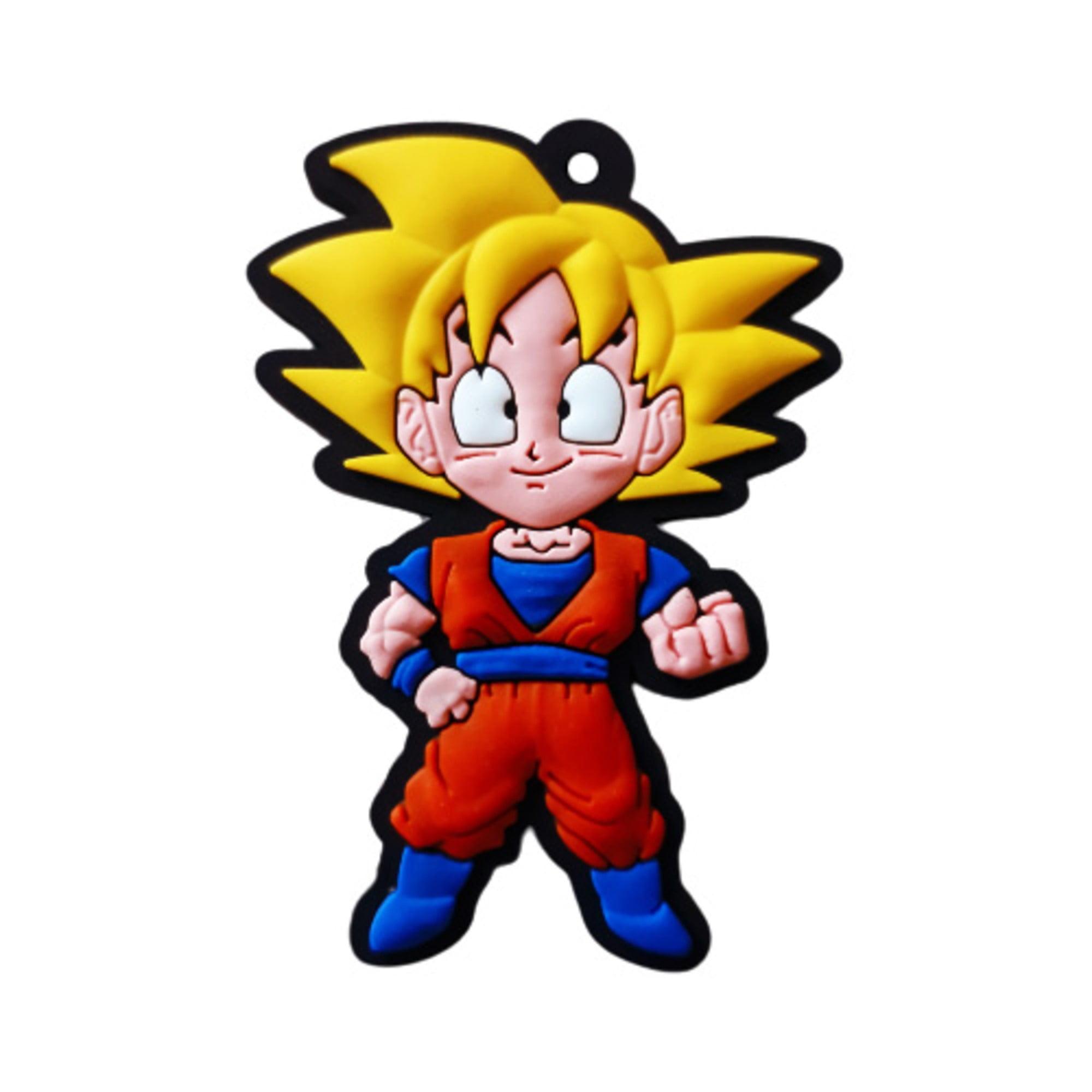 Chaveiro Geek - Goku (Super Sayajin)