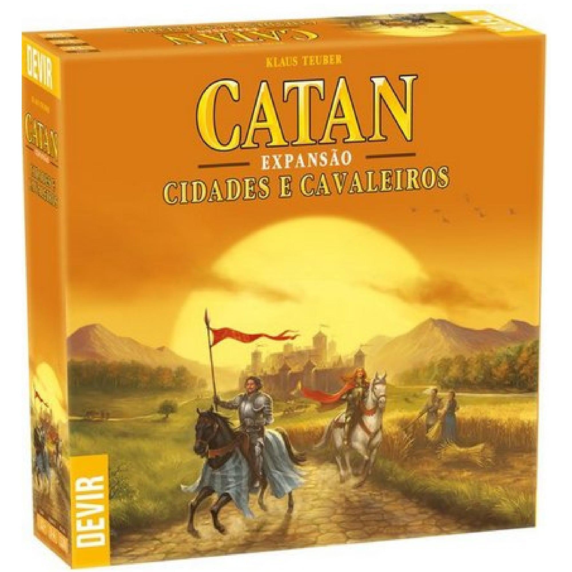 Catan Expansão Cidades e Cavaleiros