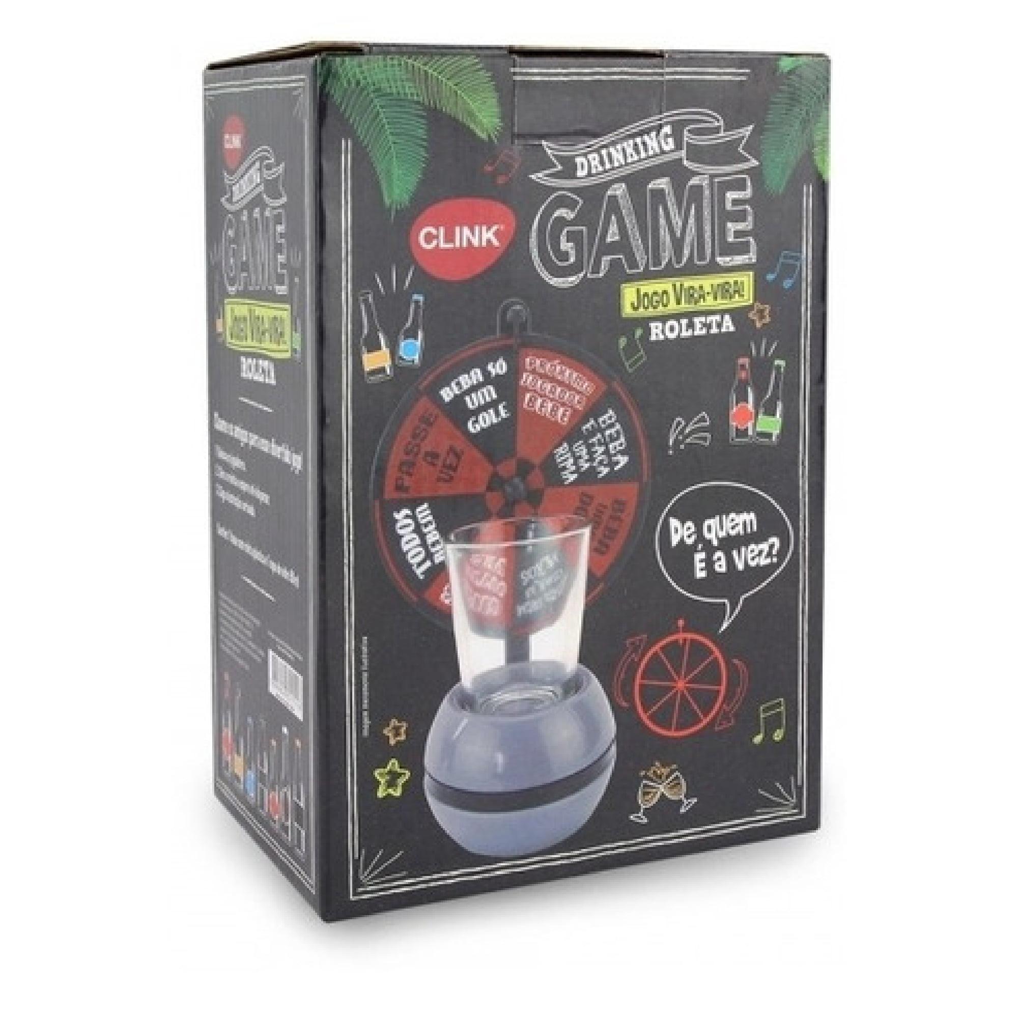 Drinking Game Jogo Vira-Vira Roleta