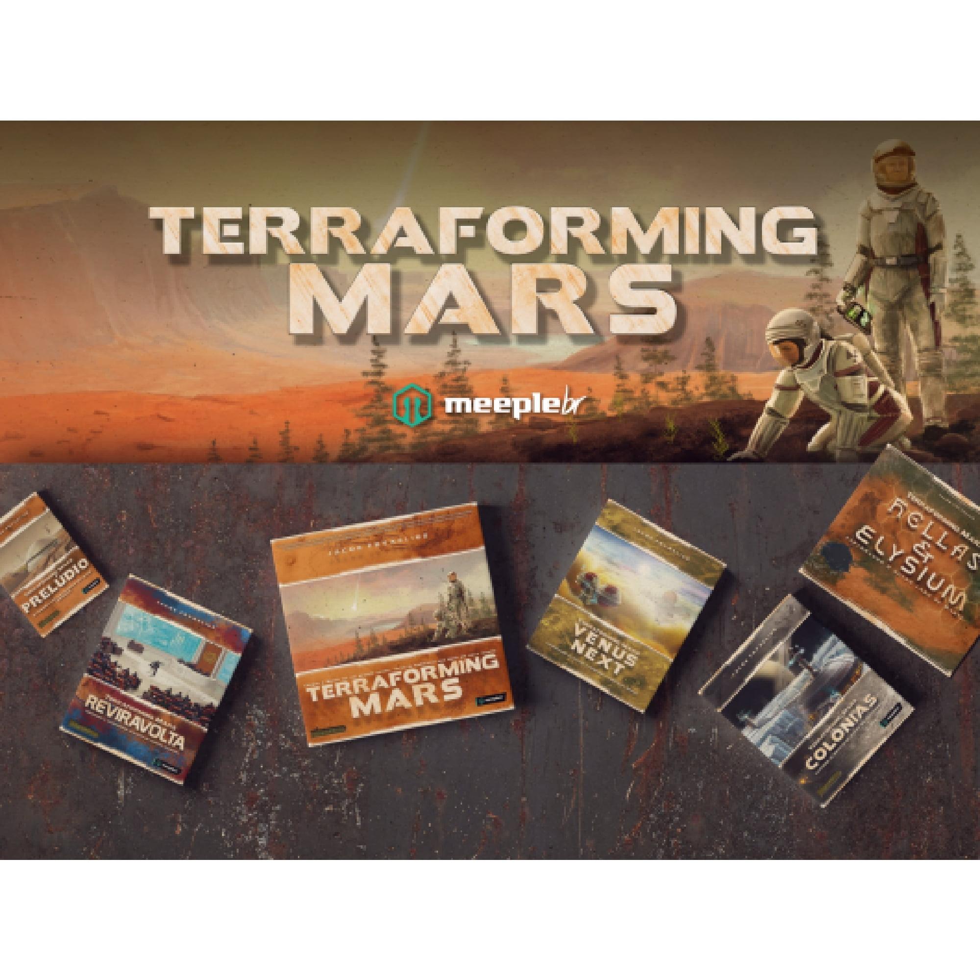 Super COMBO Terraforming Mars com Moedas de Metal