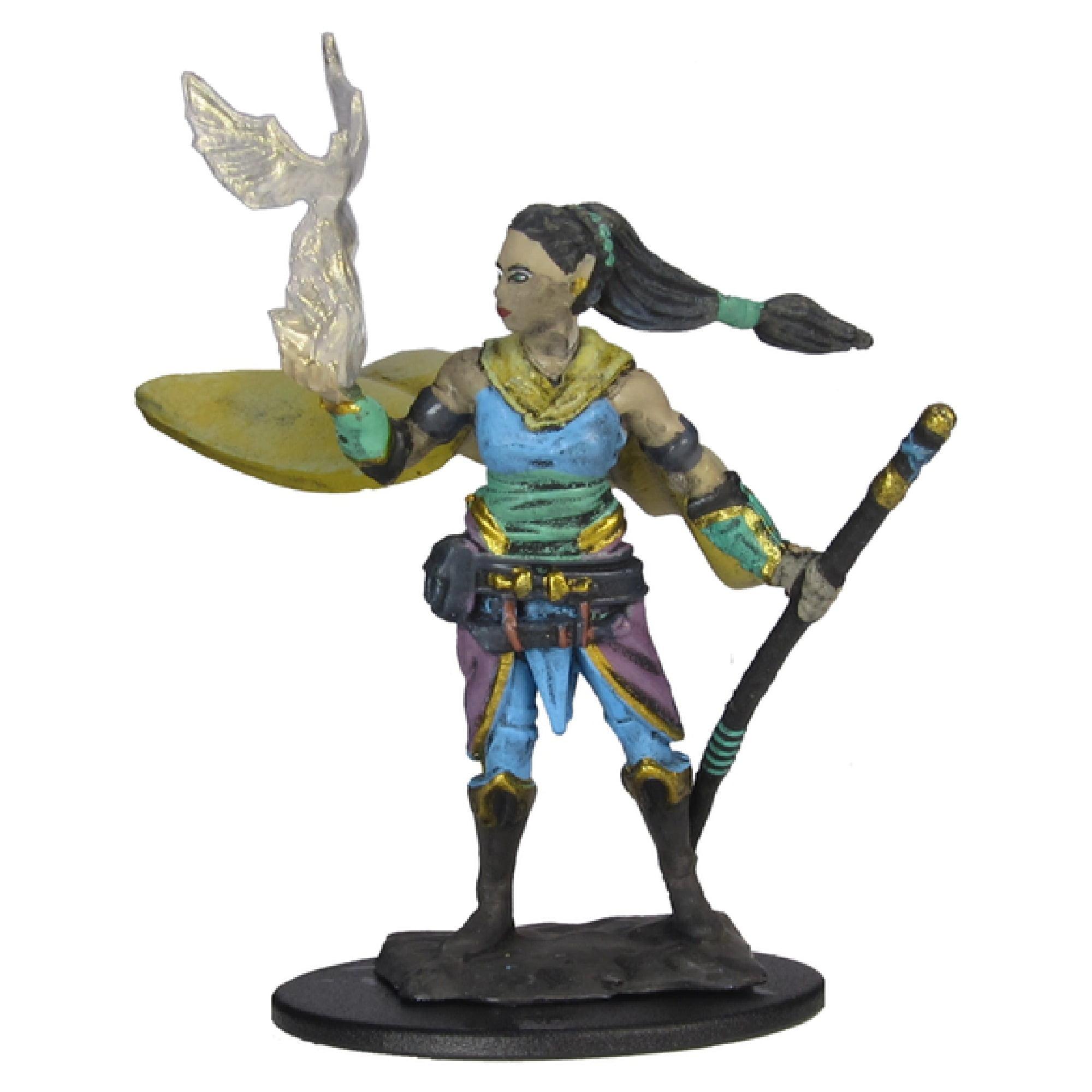 Dungeons & Dragons: Icons of the Realms - Elf Druid Female - Miniatura Premium