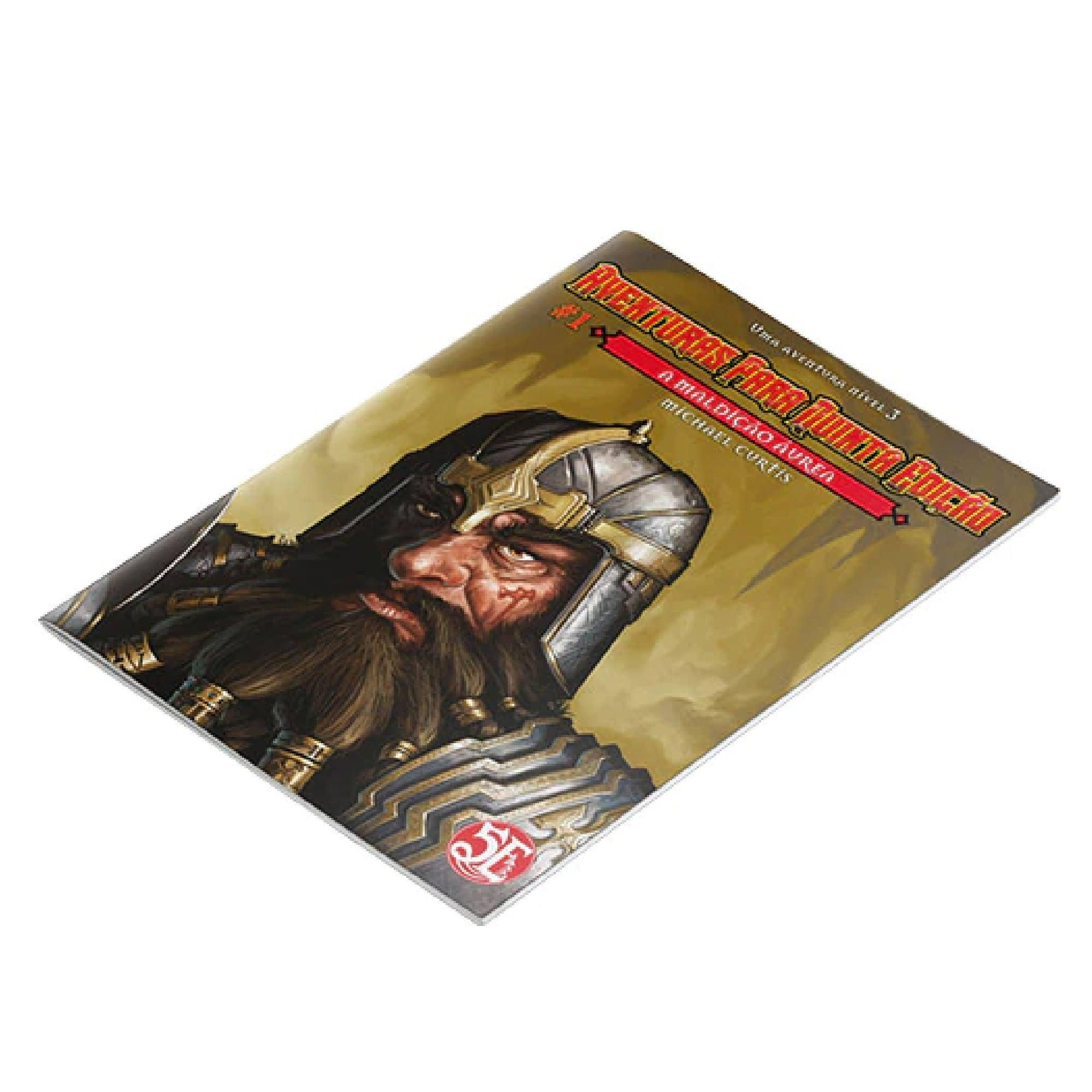 Dungeons & Dragons -Aventuras para Quinta Edição - #1 A Maldição Áurea