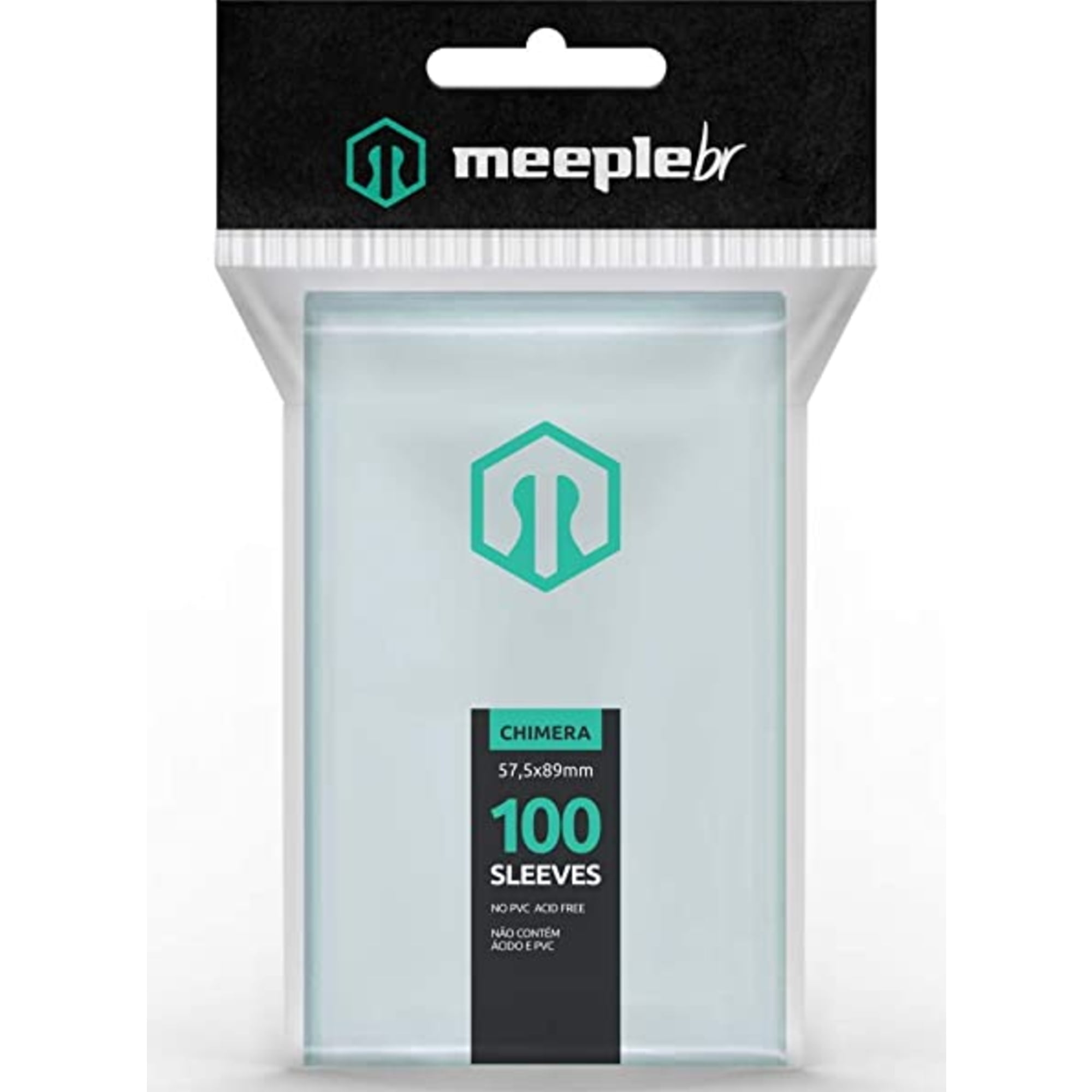 Sleeves Chimera (57,5 x 89mm) MeepleBR