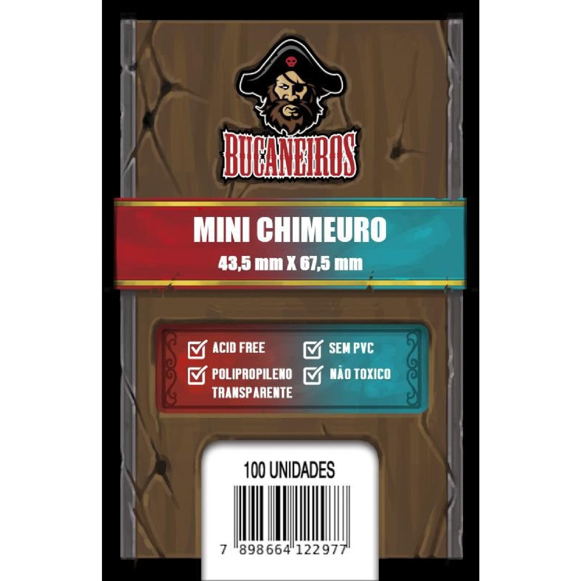 Sleeves Mini Chimeuro (43,5 x 67,5mm) Bucaneiros