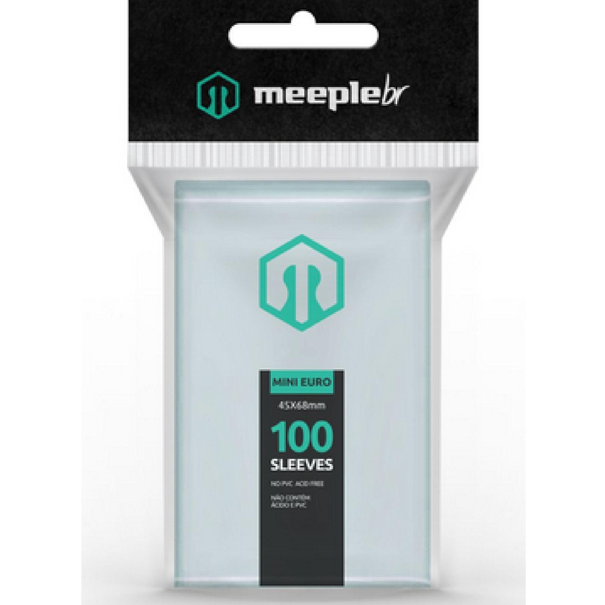 Sleeves Mini Euro (45 x 68mm) MeepleBR