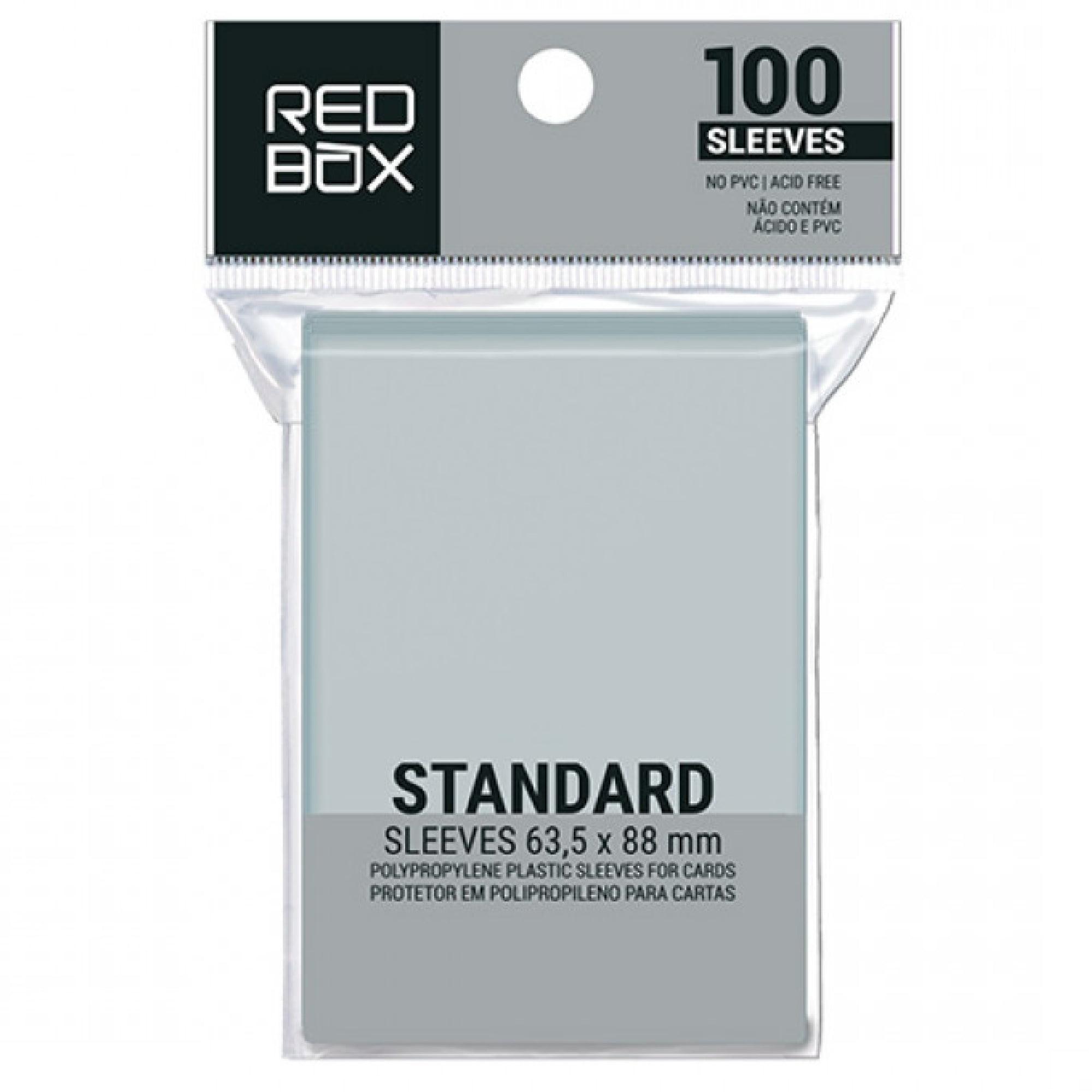 Sleeves Standard (63,5 x 88mm) Redbox