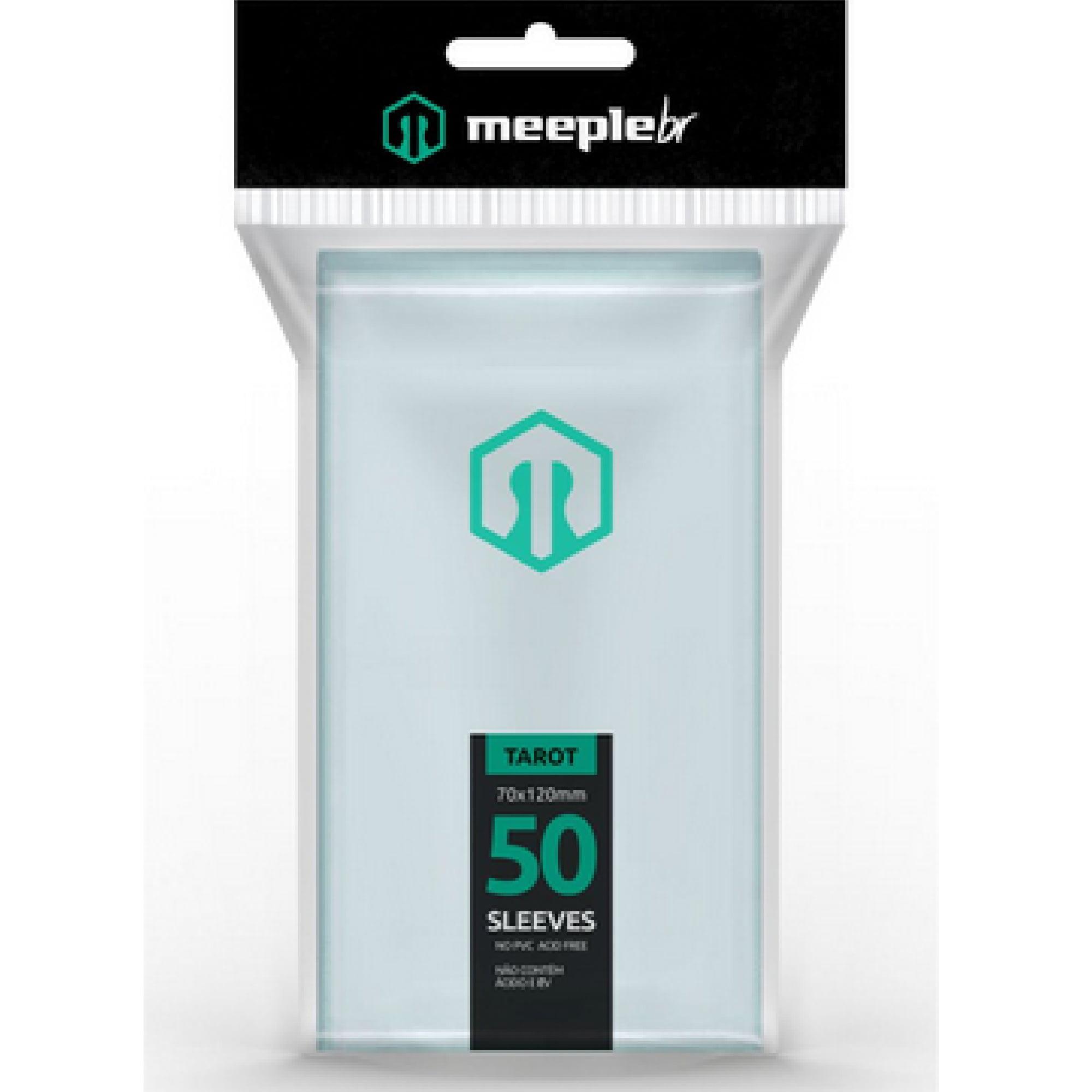 Sleeves Tarot (70 x 120mm) MeepleBR