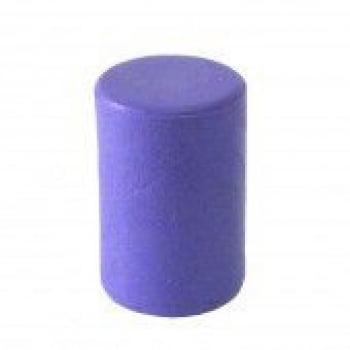 Cilindro Plástico Opaco 40 Peças (Preto, Branco, Laranja e Lilás)