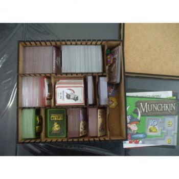 Caxa Organizadora para Munchkin e 10 Expansões