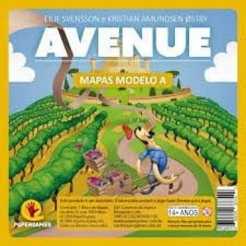 Bloco de Mapas avulso  -  Avenue