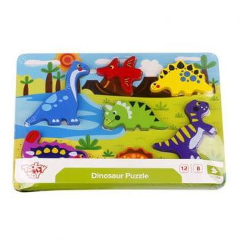 Tabuleiro de Encaixe- Dinossauro