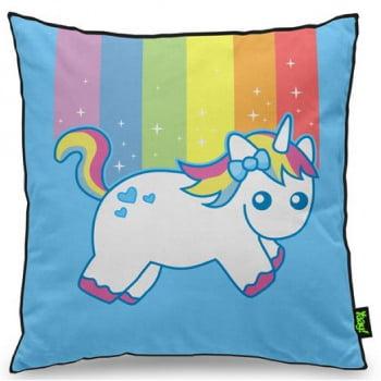 Almofada Unicórnio Arco-íris