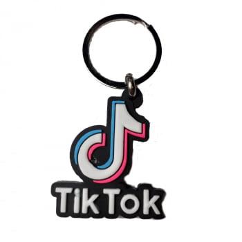 Chaveiro Geek - Tik Tok