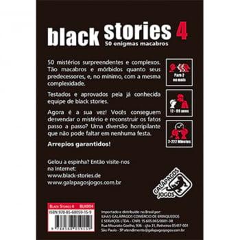 Histórias Sinistras 4 (Black Stories 4)
