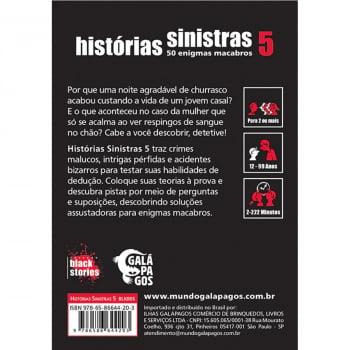 Histórias Sinistras 5 (Black Stories 5)