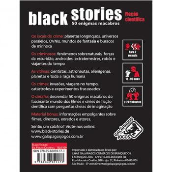 Histórias Sinistras: Ficção Científica (Black Stories: Science Fiction)