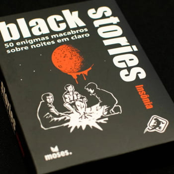 Histórias Sinistras Insônia (Black Stories Dark Night)