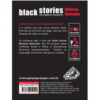 Histórias Sinistras: Meninas Malvadas (Black Stories: Killer Ladies)