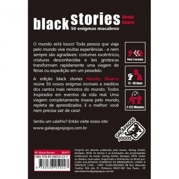 Histórias Sinistras Mundo Bizarro (Black Stories Strange World)