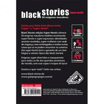 Histórias Sinistras Super-Heróis (Black Stories Superheroes)
