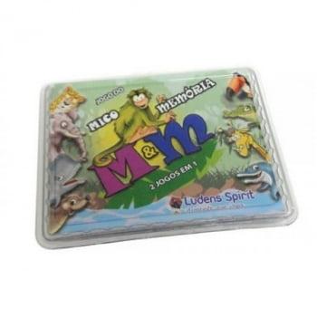 Jogo do Mico + Memória M&M (2 jogos em 1)