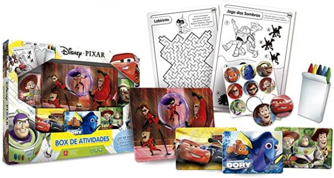 Pixar - Box de Atividades