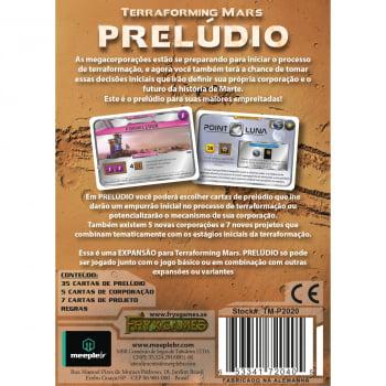 Terraforming Mars: Prelúdio