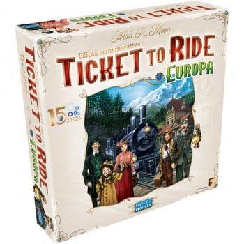 Ticket to Ride Europa 15 Anos