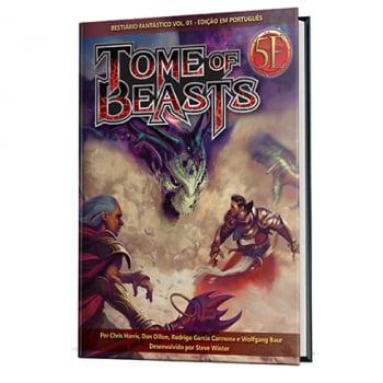 Tome of Beasts - Bestiário Fantástico Vol 1 em Português para Dungeons & Dragons