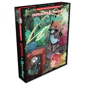 D&D - Dungeons & Dragons vs. Rick and Morty (em Inglês)