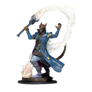 Dungeons & Dragons: Icons of the Realms - Tiefling Sorcerer Male - Miniatura Premium