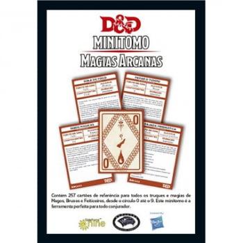 Dungeons & Dragons: Minitomo de Magias Arcanas