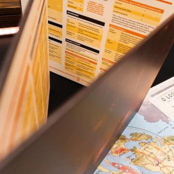 Tales From The Loop - Escudo do Mestre & Mapas