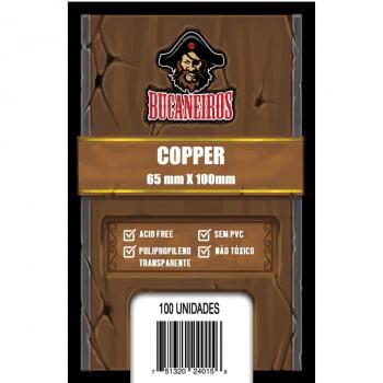 Sleeves Copper (65 x 100mm) Bucaneiros