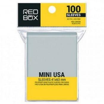 Sleeves Mini USA (41 x 63mm)  Redbox